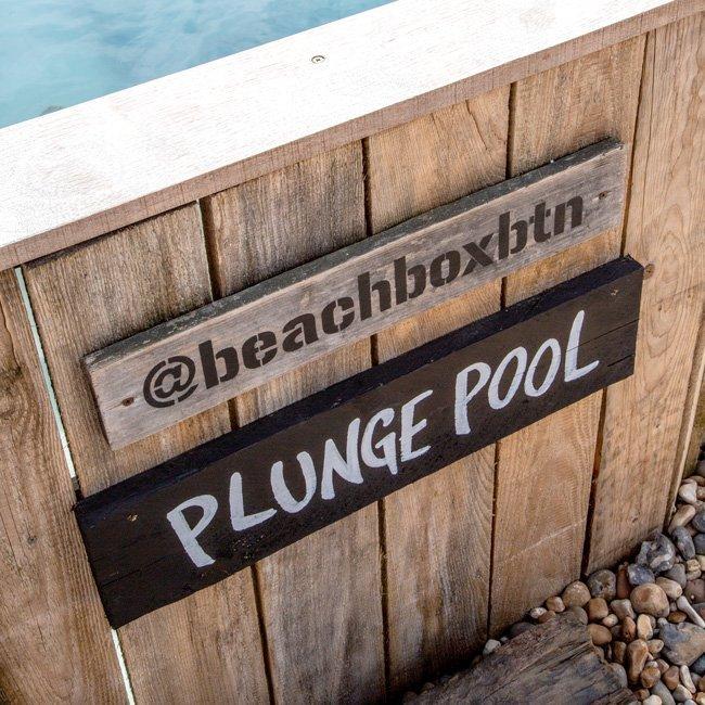 Cool pool plunge pool